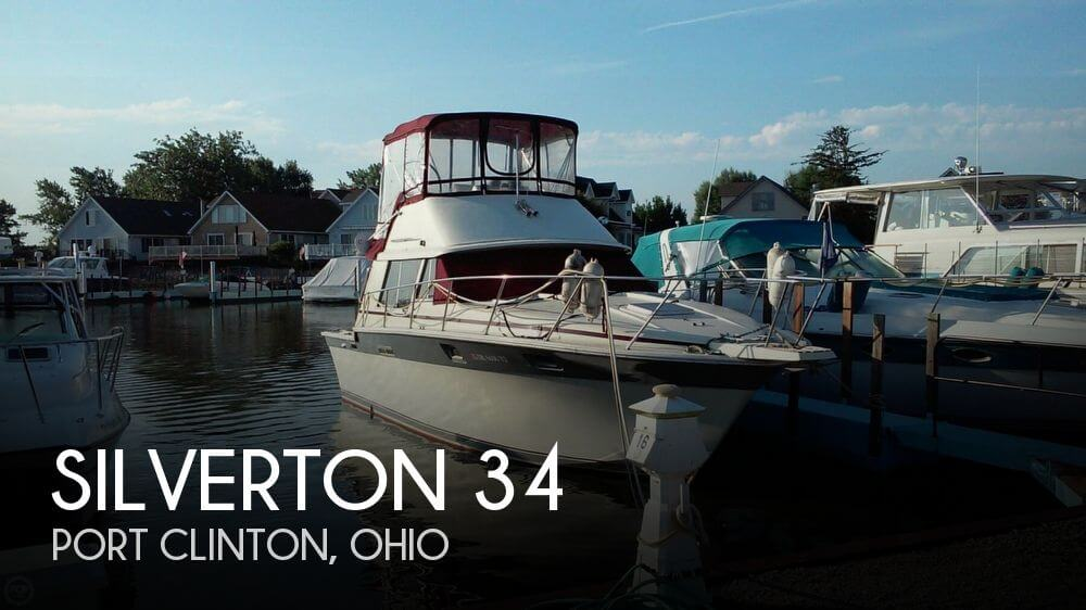 Used Fishing boats For Sale in Ohio by owner | 1985 Silverton 34