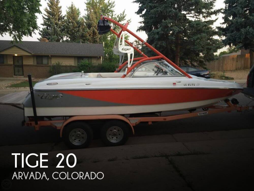 Used Boats For Sale in Fort Collins, Colorado by owner | 2005 Tige 20