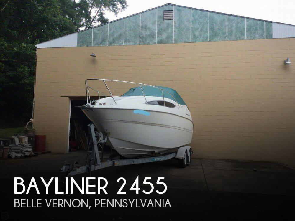 Used Bayliner 24 Boats For Sale by owner | 2000 Bayliner 2455