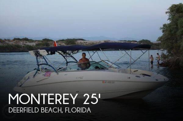 Used Deck Boats For Sale by owner | 2004 Monterey 26