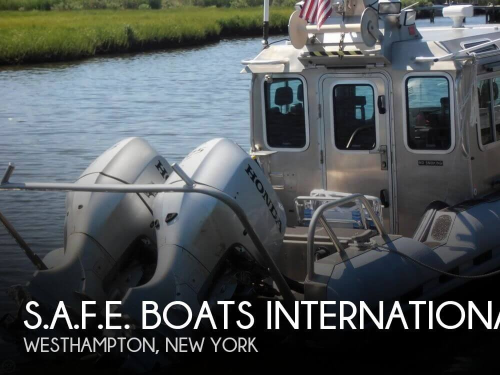 Used Boats For Sale in Norwich, Connecticut by owner | 2010 S.A.F.E. Boats Internatio 25 Responder