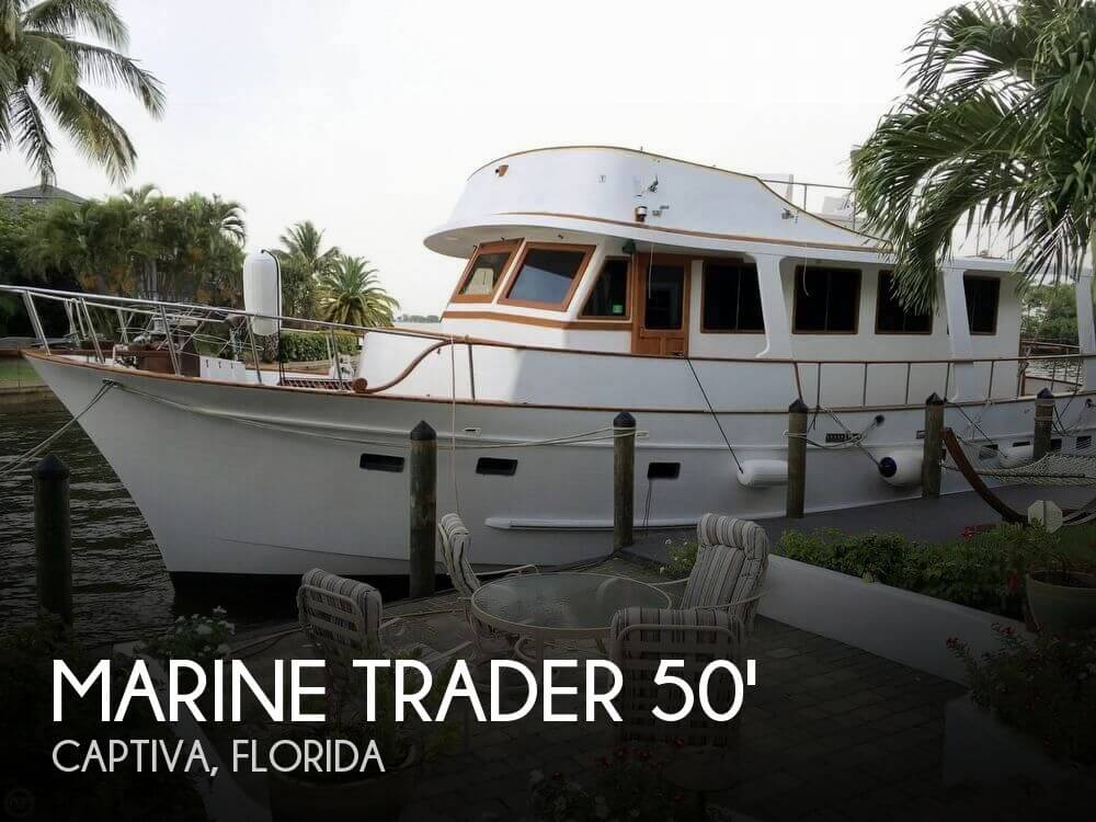 Used Motoryachts For Sale in Florida by owner | 1983 Marine Trader 50