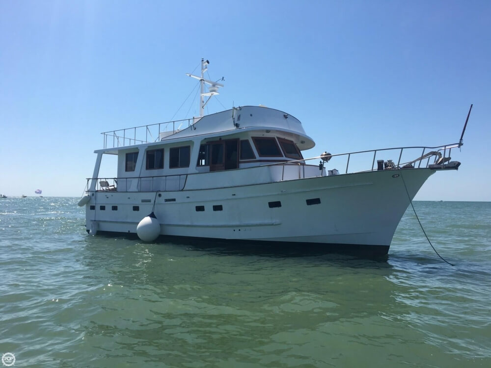 1983 Marine Trader boat for sale, model of the boat is Tortuga 50 & Image # 2 of 40