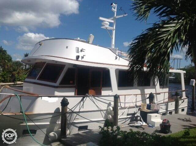 1983 Marine Trader boat for sale, model of the boat is Tortuga 50 & Image # 4 of 40