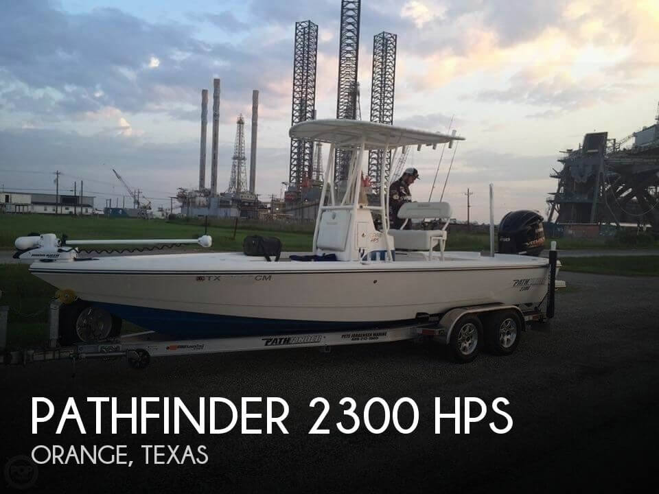 Used Pathfinder Boats For Sale by owner | 2014 Pathfinder 2300 HPS