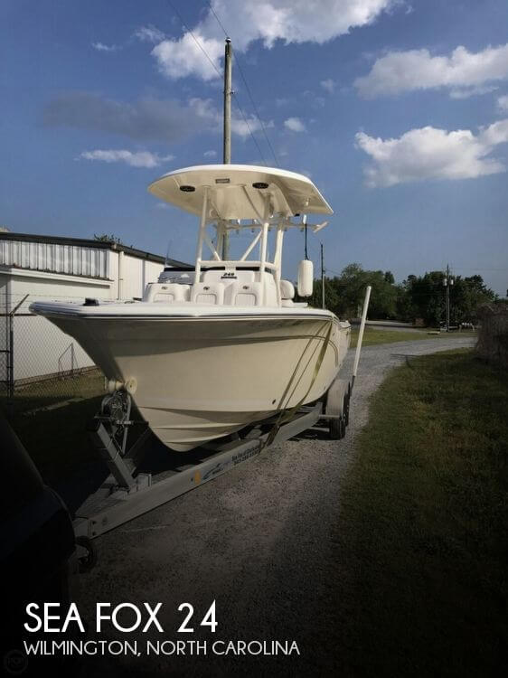 Used Boats For Sale in Wilmington, North Carolina by owner | 2014 Sea Fox 24