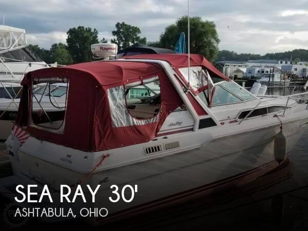 Used Sea Ray Boats For Sale in Ohio by owner | 1989 Sea Ray 300 Sundancer