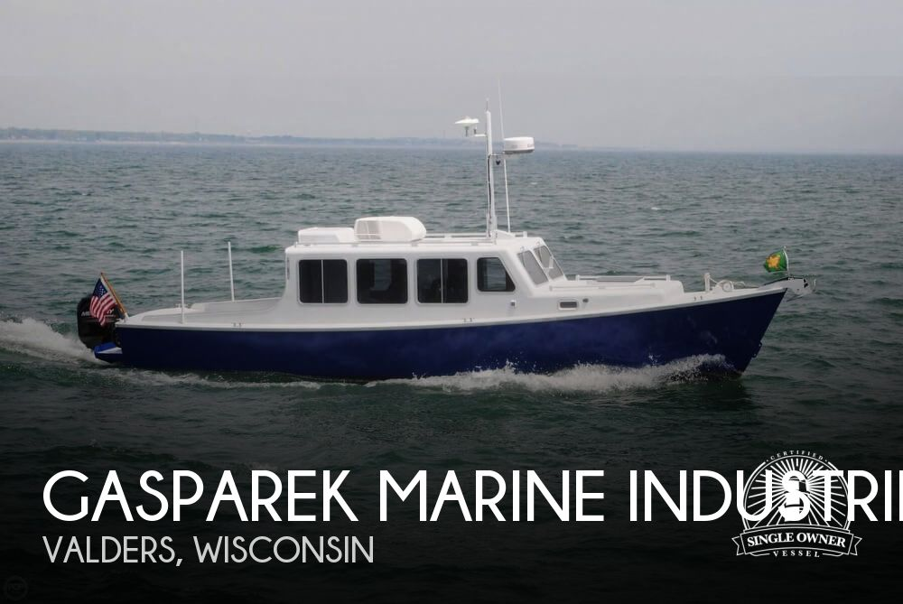 2013 Gasparek Marine Industries boat for sale, model of the boat is 33 & Image # 1 of 41