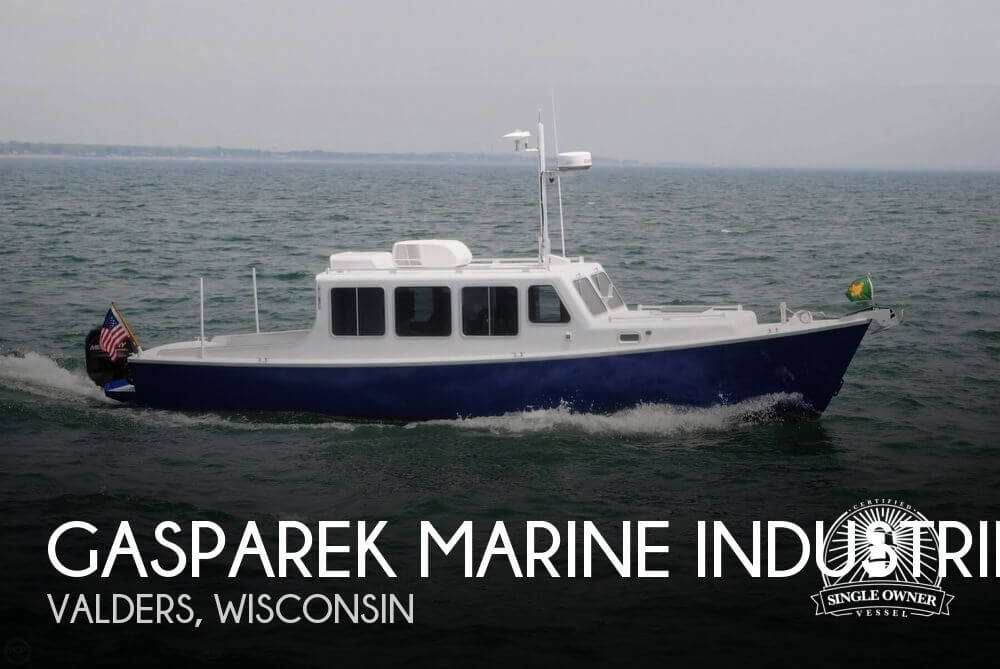 Used Boats For Sale in Wisconsin by owner | 2013 Gasparek Marine Industrie 33