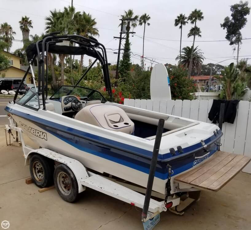 2001 Calabria boat for sale, model of the boat is 20 Laguna & Image # 5 of 40