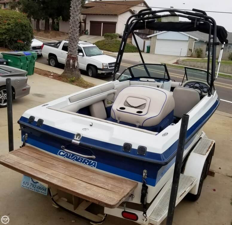 2001 Calabria boat for sale, model of the boat is 20 Laguna & Image # 6 of 40