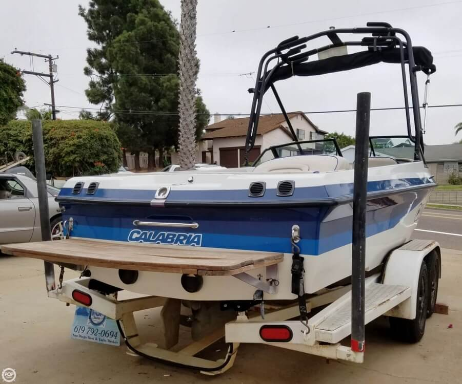 2001 Calabria boat for sale, model of the boat is 20 Laguna & Image # 7 of 40
