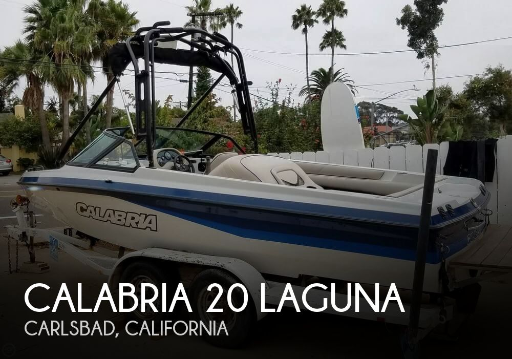 2001 Calabria boat for sale, model of the boat is 20 Laguna & Image # 1 of 40