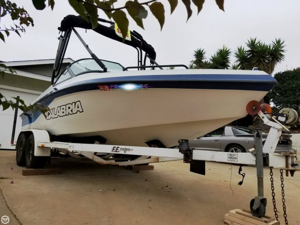 2001 Calabria boat for sale, model of the boat is 20 Laguna & Image # 3 of 40