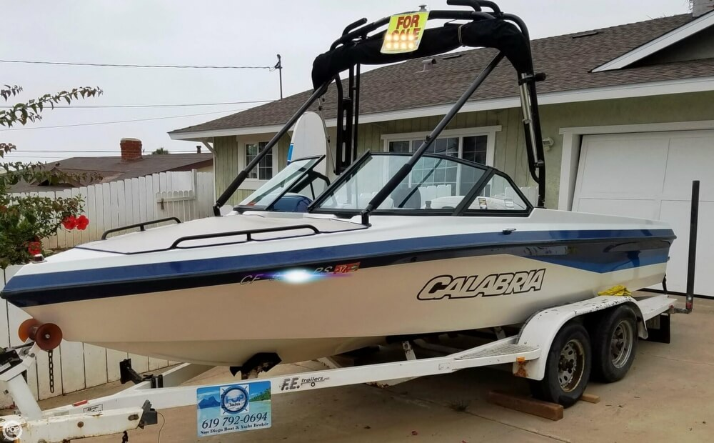2001 Calabria boat for sale, model of the boat is 20 Laguna & Image # 2 of 40