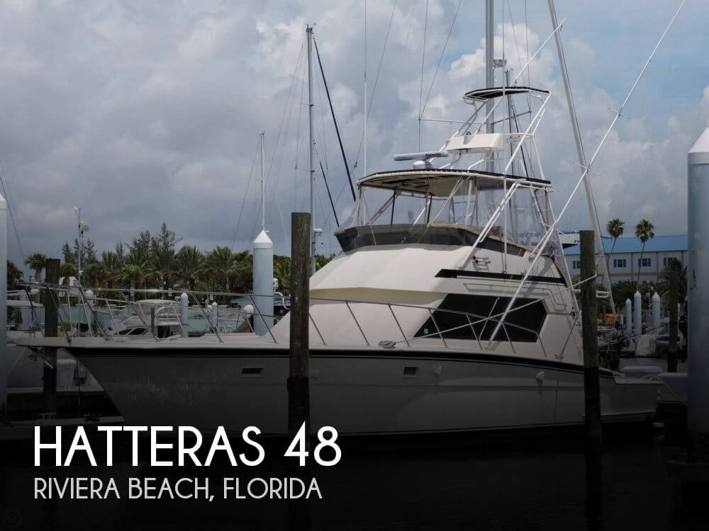 Used Boats For Sale in Port St. Lucie, Florida by owner | 1989 Hatteras 48