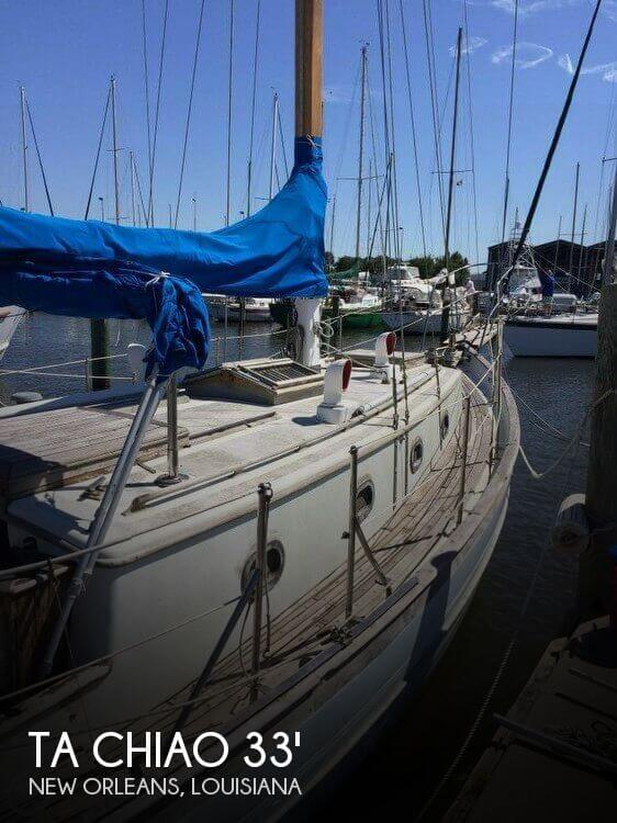 Used Sailboats For Sale in Louisiana by owner | 1978 Ta Chiao 33