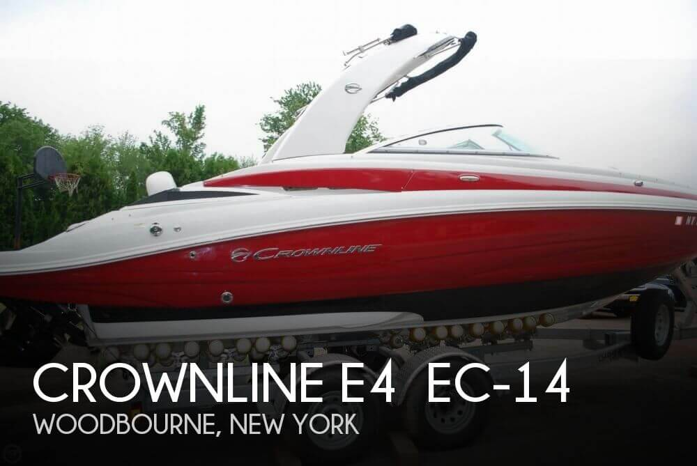 Used Deck Boats For Sale by owner | 2014 Crownline E4 EC-14