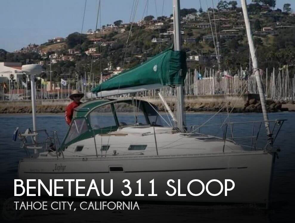 Used Boats For Sale in Reno, Nevada by owner | 2001 Beneteau 311 Sloop