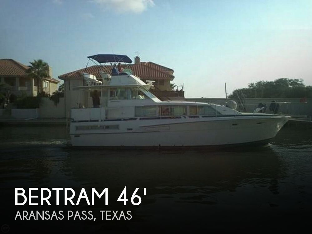 Used Motoryachts For Sale in Texas by owner | 1976 Bertram 46