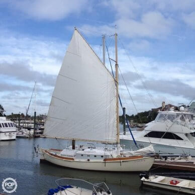Custom Built Gaff Rigged Sloop, 35', for sale - $29,500