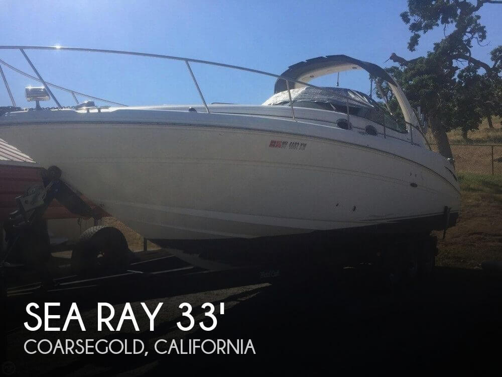 Used Boats For Sale in Merced, California by owner | 2005 Sea Ray 33