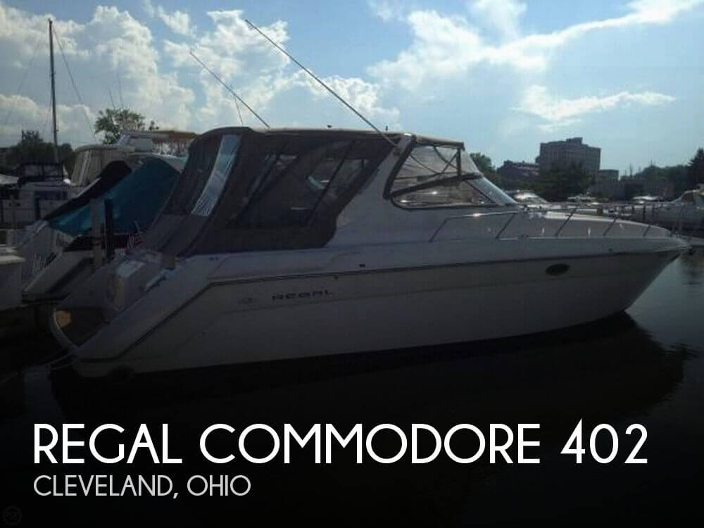 Used Boats For Sale in Canton, Ohio by owner | 1999 Regal Commodore 402