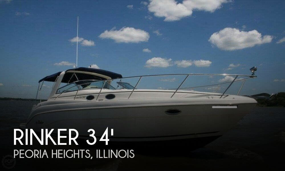 Used Boats For Sale in Davenport, Iowa by owner | 2002 Rinker 342 Fiesta-Vee