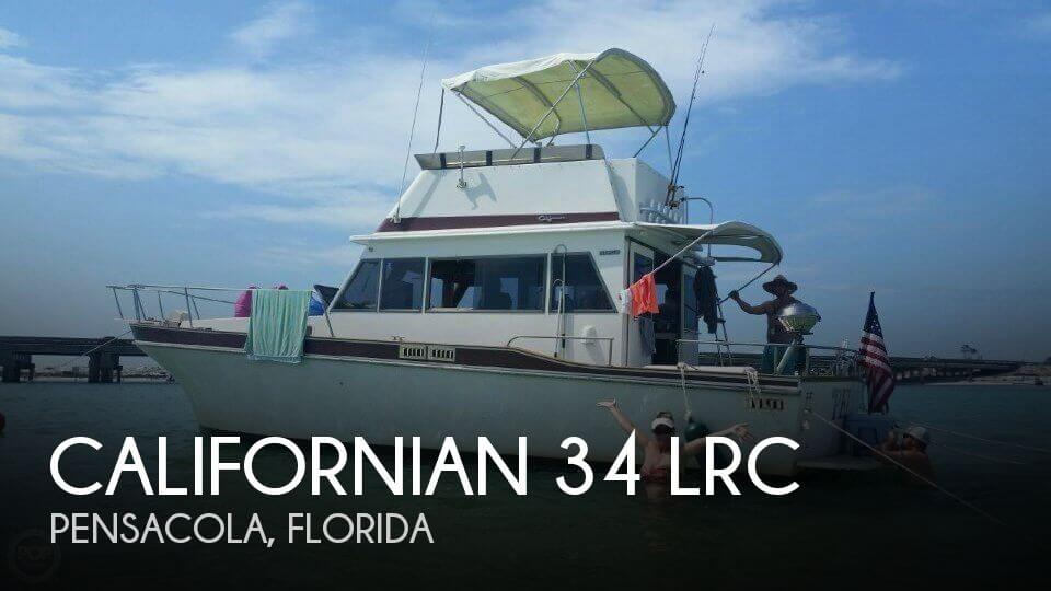 Used Californian Boats For Sale by owner | 1983 Californian 34 LRC