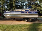 2015 Sun Tracker Fishin' Barge 22 DLX - #4