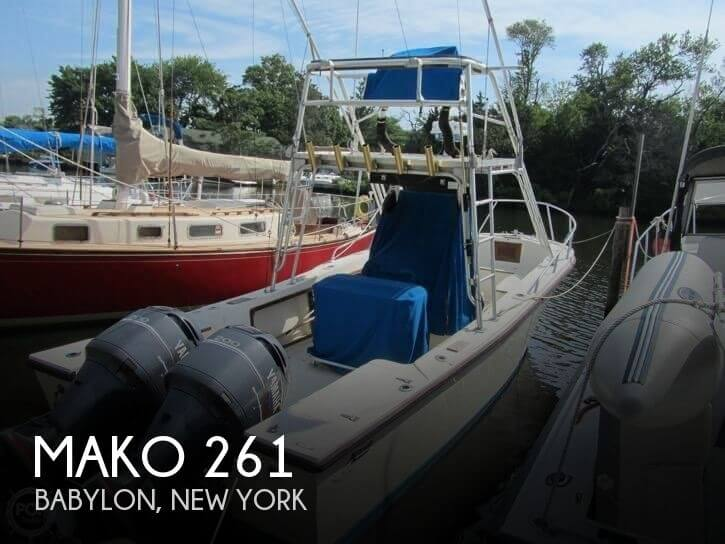 Used MAKO 261 Boats For Sale by owner | 1989 Mako 261