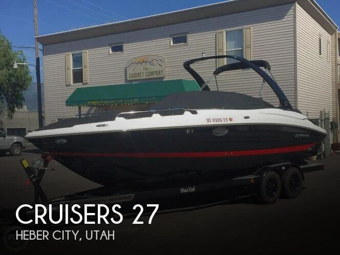 Used Boats For Sale in Ogden, Utah by owner | 2014 Cruisers Yachts 27