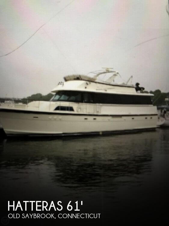 Used HATTERAS Motoryachts For Sale by owner | 1982 Hatteras 61