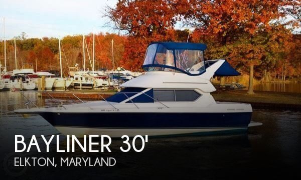 Used Fishing boats For Sale in Maryland by owner | 2007 Bayliner 30