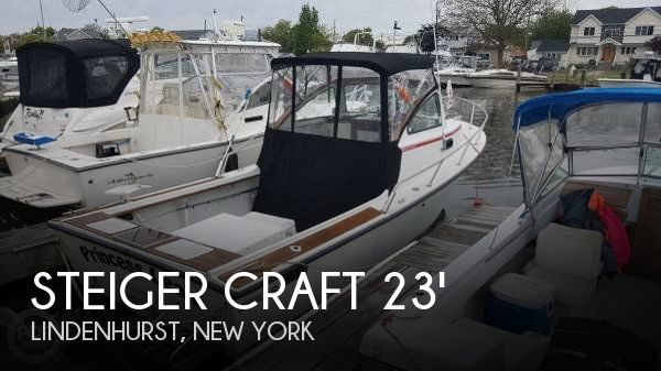 Used Steiger Craft Boats For Sale by owner | 1989 Steiger Craft 23 Block Island