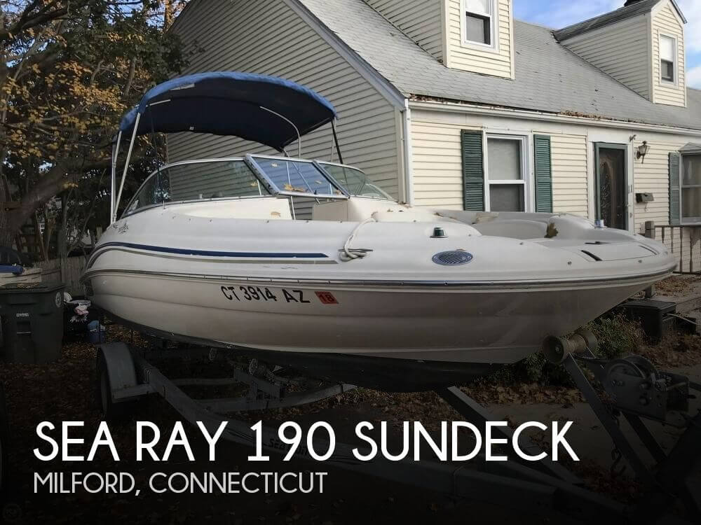 Used Deck Boats For Sale by owner | 2000 Sea Ray 19