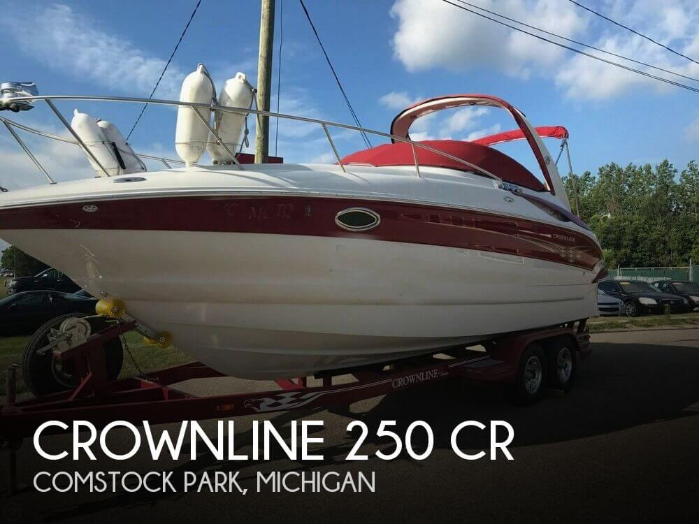 Used Boats For Sale in Grand Rapids, Michigan by owner | 2007 Crownline 250 CR