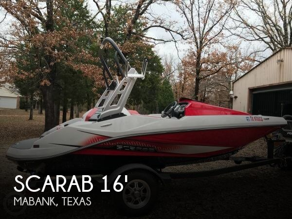 Used Boats For Sale in Tyler, Texas by owner | 2015 Scarab 16
