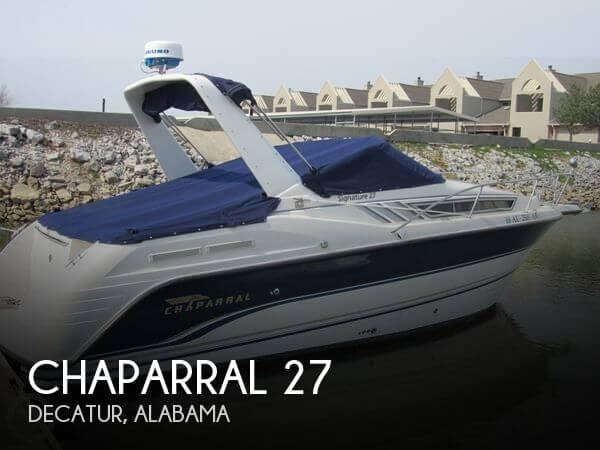 Used Chaparral 27 Boats For Sale by owner | 1998 Chaparral 27