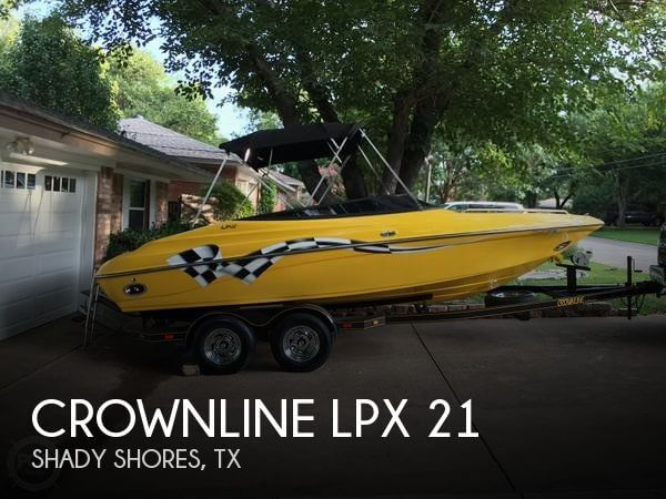 Used Crownline Boats For Sale in Texas by owner | 2002 Crownline LPX 21