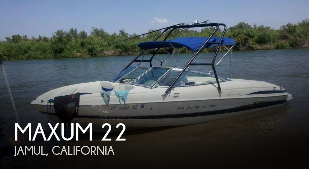 Used Maxum Ski Boats For Sale by owner | 2004 Maxum 22