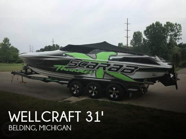 Used Boats For Sale in Kalamazoo, Michigan by owner | 1994 Wellcraft 29