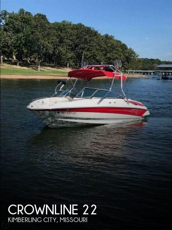 Used Boats For Sale in Springfield, Missouri by owner   2005 Crownline 22