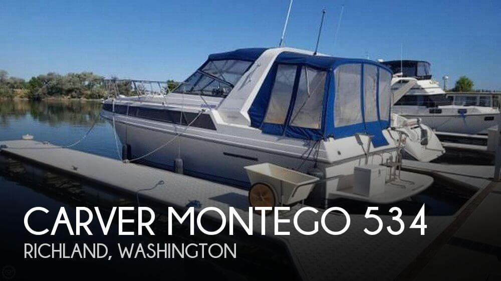 Used Carver 32 Boats For Sale by owner | 1992 Carver 32