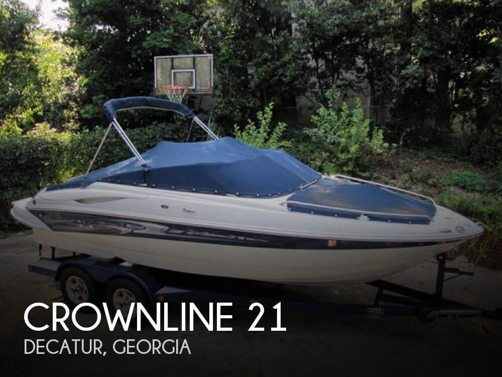 Used Crownline Boats For Sale in Georgia by owner   2006 Crownline 21