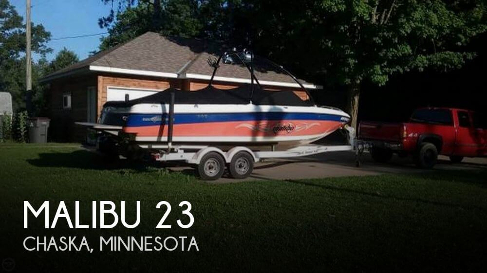 Used Boats For Sale in Rochester, Minnesota by owner | 2002 Malibu 23
