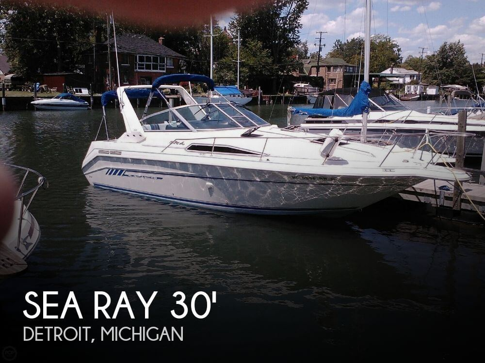 Used Sea Ray Boats For Sale in Michigan by owner | 1992 Sea Ray Sundancer 290