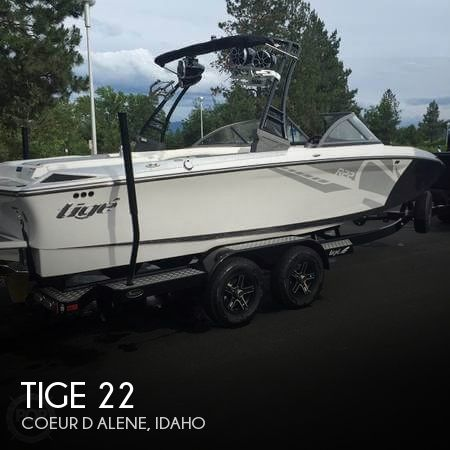 Used Boats For Sale in Spokane, Washington by owner | 2016 Tige 22