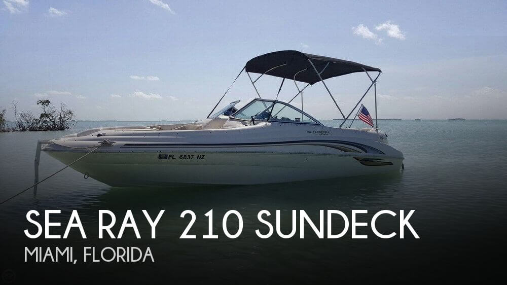 Used Deck Boats For Sale by owner | 2001 Sea Ray 21