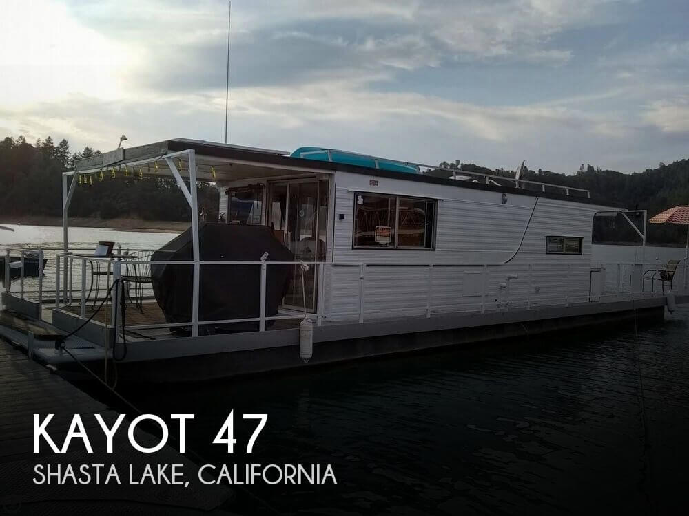 Used Houseboats For Sale in California by owner | 1972 Kayot 47